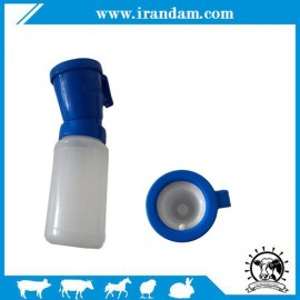 Teat Dip Cup (Blue) Non Reflow Nipple Cleaning Disinfection Dip Cup for Cow Sheep Goat by Blisstime