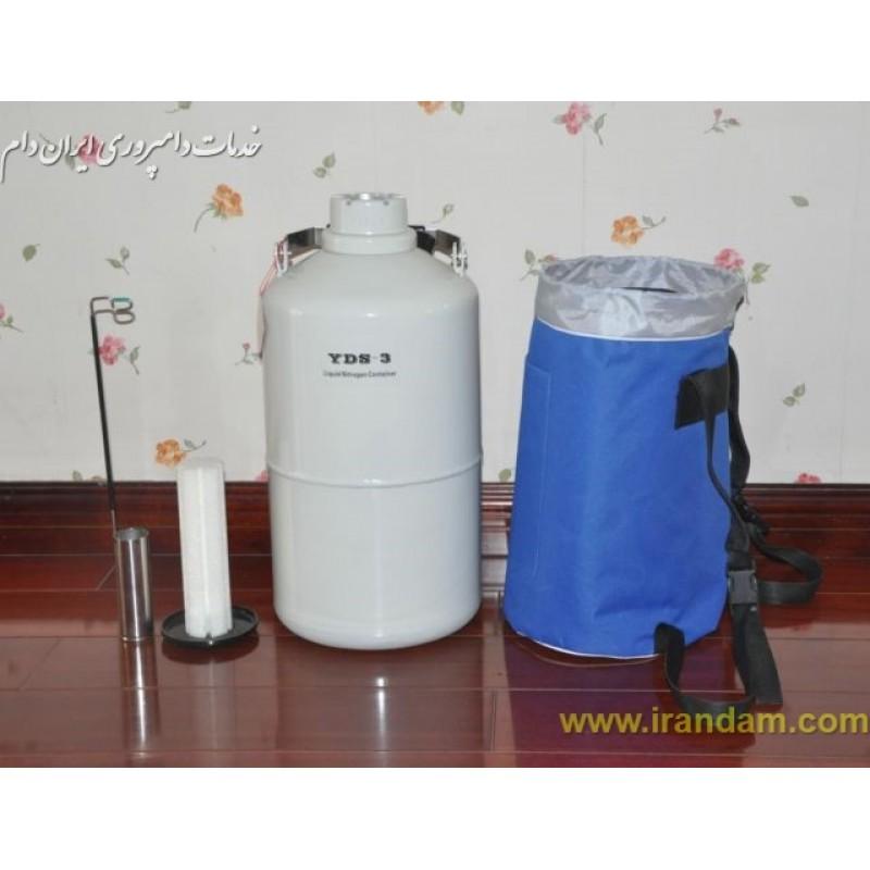 تانک ازت مایع 6.0 لیتری چینی