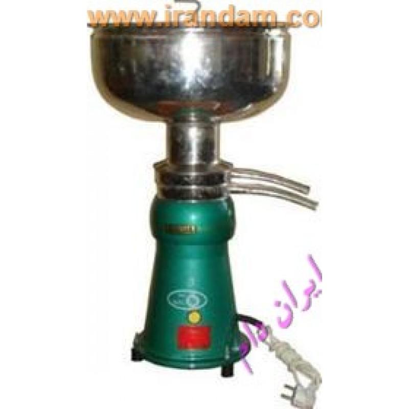 خامه گیر برقی 140 لیتری چرخ شیر