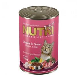 کنسرو غذای گربه نوتری پت ..