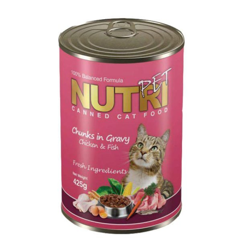 کنسرو غذای گربه نوتری پت