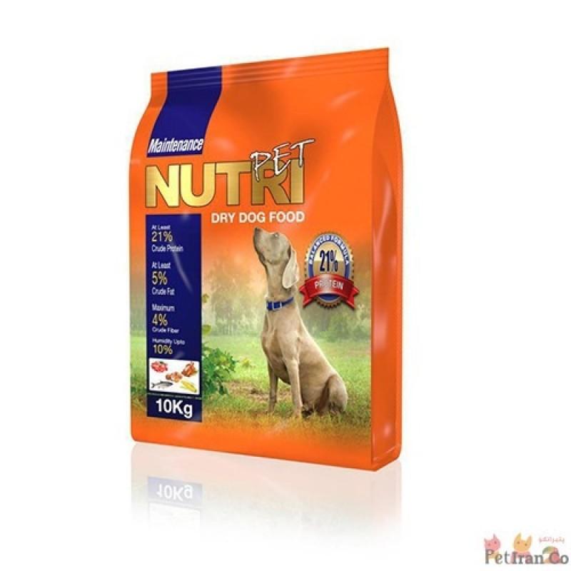 غذای خشک نوتری پت برای سگ ۱۰K