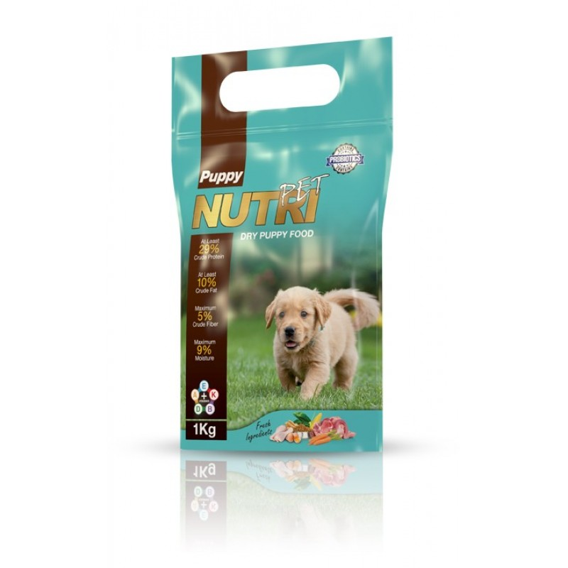 غذای خشک توله سگ، برند نوتری پت، ۱ کیلوگرمی